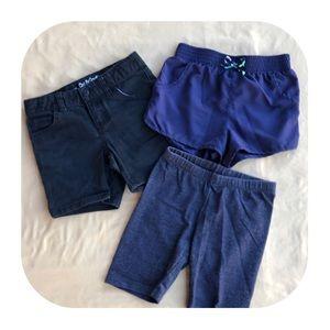 3 Cat & Jack Shorts Girls 7/8